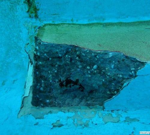 Nood betonreparatie trap buitenbad Orka zwembadreparatie