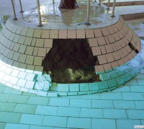 Reinigen golfbad Orka zwembadreparatie